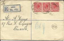 Gold Coast Registered Postal Envelope HG:C8a(size-H) AXIM JUN/4/1921