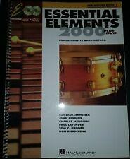 Hal Leonard Essential Elements 2000 Plus Percussion (Keyboard) Book 1 + Cd, Dvd