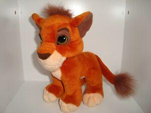 "Lion King Simba's Pride Kovu Kissing Magnetic nose Mattel 1998 Plush 8"""