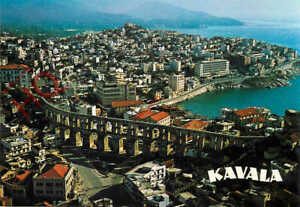 Picture Postcard__Kavala, Showing the Aqueduct