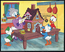 LESOTHO, Sc #558, MNH, 1986, S/S, Disney, Disney Characters, Huey, Dewey, DI321