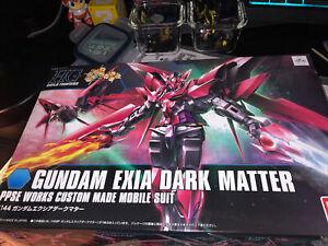 Gundam Exia Dark Matter-HGBF 1/144 Scale Model Kit...Ships From The USA