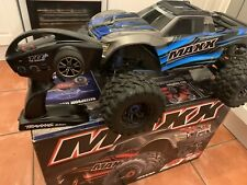 RC Traxxas Maxx 4s 1/10 monster truck FULL SET UP (USED ONCE ) Radio Controlled