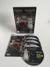 Empire & Napoléon Total War Jeu Game Pc Windows Avec Notice SEGA