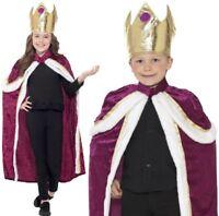 Natale Bambini Re Giornata Del Libro Costume Ragazze da Regina Smiffys