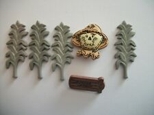 Novelty Buttons and embellishments, scarecrow and leaf