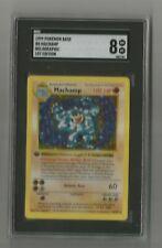 1999 Pokemon Base Set 1st Edition Machamp SHADOWLESS SGC GRADED 8 NM/MT 8/102