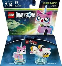 LEGO DIMENSIONS LEGO MOVIE UNIKITTY AND CLOUD CUCKOO CAR 71231 NEW FREE SHIPPING