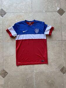 Nike USMNT Unite States National Team 2014 2015 Away Football Jersey Size Medium