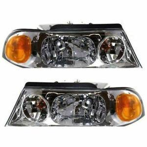 New Set of 2 LH & RH Side Headlamp Assembly Fits Lincoln Navigator Blackwood