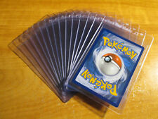 15x Plastica Cartoline Salva II Semi-Rigido Contenitore Pokemon / Mtg / Yu Sport