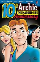 ARCHIE THE MARRIED LIFE 10TH ANNIVERSARY #1 COVER A PARENT 2019 ARCHIE