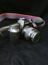 canon eos rebel 35mm film slr with 35- 80 mm lens