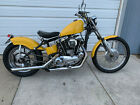 1969 Harley Davidson Sportster 1969 Harley Davidson Sportster Chopper Motorcycle Yellow Super Cool