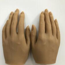 Tgirl Neu Silikon Nagel Praxis Hand Links Oder Rechts Aceton Acryl Eingelegt