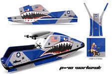 AMR Racing Yamaha Superjet Square Nose Jet Ski Decals Graphics Kit Wrap WARHAWK