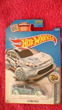 "Hot wheels-us-carte #157'12 ford fiesta-métallique bleu clair"" 28"""