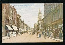 Worcestershire Worcs WORCESTER The Cross pre 1919 PPC