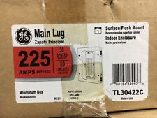 DISCOUNTED GE 3-PHASE 225 AMPS MAIN LUG LOAD CENTER (PANELBOARD), PART # TL30422