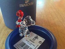 Swarovski Crystal Figurine 2016 CHRISTMAS ANNUAL EDITION KRIS BEAR
