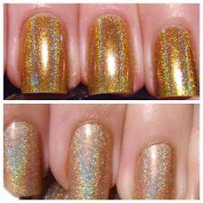 HOLOGRAPHIC GOLD MIRROR CHROME EFFECT Pigment Powder **RUB ON CHROME** -1g Bag -