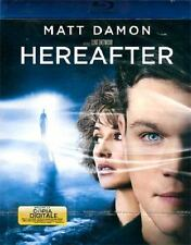 Blu Ray • Hereafter + COPIA DIGITALE MATT DAMON Clint Eastwood ITALIANO NUOVO