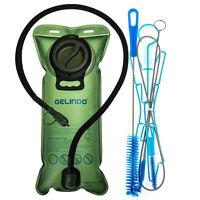 3L Water Bladder Backpack Hydration System Survival Pack Hiking Bag w/ Brush USA