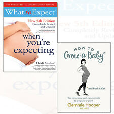 How to Grow a Baby and What to Expect When You're Expecting 2 Books Collection