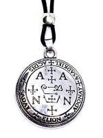 Archangel Zadkiel Pendant Talisman Sigil Evocation Beaded Cord Necklace