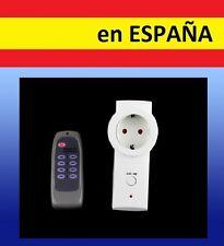 ENCHUFE MANDO A DISTANCIA control remoto ladron regleta corriente luz wireless