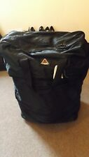ADIDAS LARGE UPRIGHT 6 WHEELED PULL ALONG TRAVEL BAG EXPANDS COLLAPSIBLE BLACK