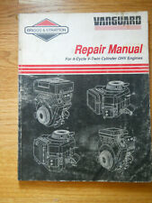 Briggs & Stratton Service Repair Manual for Vanguard V-Twin Cylinder OHV Engines