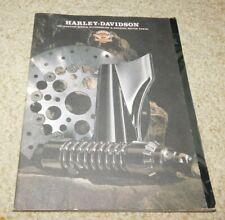 Vintage 1997 Harley Davidson Parts Accessories Catalog