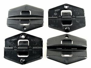 S10 S15 Sonoma Window Glass Guide Clips- Front Door- 1982-1994- 4 clips- #012
