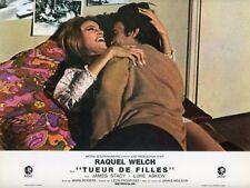 RAQUEL WELCH JAMES STACY TUEUR DE FILLES FLAREUP 1969 VINTAGE LOBBY CARD #8