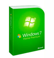 Microsoft Windows 7 Home Premium 32 & 64 bit with DVD FULL Version Sealed