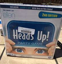 Heads Up! Party Game Ellen DeGeneres 2nd Edition Board Cards Family