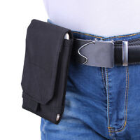 Tactical Molle Nylon Cell Phone Case Pouch Bag Smartphone Black