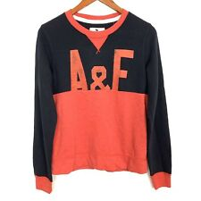 Abercrombie Kids Boys Size 15/16 Blue Red Long Sleeve Pullover Sweater