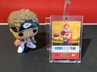 2017 Panini Contenders Patrick Mahomes II Rookie of the YEAR #RY-3 KC Chiefs!