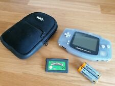 Nintendo gameboy advance console with wario Land 4 free and case retro rare
