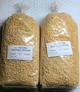 2 lb Textured Crumbled Vegetable PROTEIN Granules Unflavored Soy Vegan Meat Soya