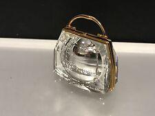 Swarovski Figur Tasche / Uhr 4,5 cm. Top Zustand