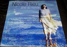 NEUF SCELLE NICOLE RIEU CD PROMO SINGLE AME DU MONDE
