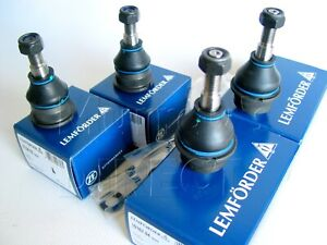 SET of 4 Lemforder Upper & Lower Ball Joints VW T1 Beetle Flat Screen 1200 1300