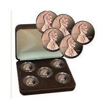 5 Decades of 'S' Mint PROOF Pennies Set - 5 PROOF Pennies in Display Box