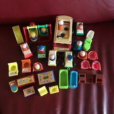 FISHER PRICE TOYS LITTLE PEOPLE - VINTAGE BULK COLLECTION