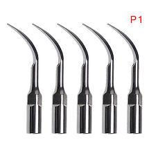 5pcs Dentista Ultrasonic perio Scaler Tips  P1 Fit EMS/WOODPECKER Handpiece
