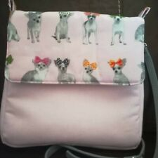 Bespoke Homemade Bag chihuahua dogs ladies women days out shopping holiday