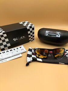 *Oakley Catalunya Sliver Stealth Matte Black Prizm 24K MotoGP NEW Free S/H***
